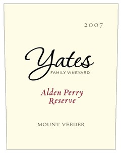 Yates07AldenPerryResBk Yates Family Vineyard Update