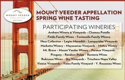 MVA Tasting Yates Family Vineyard Events